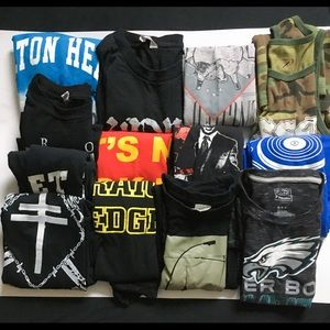 Graphic Tee 13 Piece not so mystery box S-XL